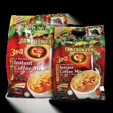 Cà Phê Hòa Tan Con Chồn Vàng C7 3in1 Túi Đỏ 50gói x 17gr 1. Cà phê hòa tan - Instant coffee 2