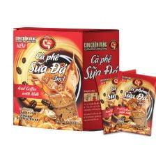 Cà phê Hòa Tan 3in1 Sữa Đá Con Chồn Vàng C7
