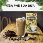 Cà Phê Hòa Tan Cappuccino Dừa 4in1