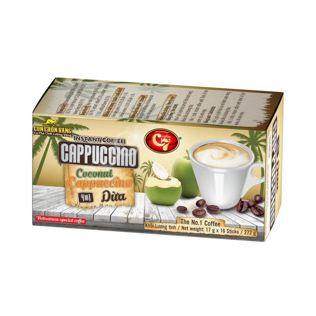 Cà phê dừa là gì? - cà phê cappuccino dừa là gì? - cafe dừa hòa tan