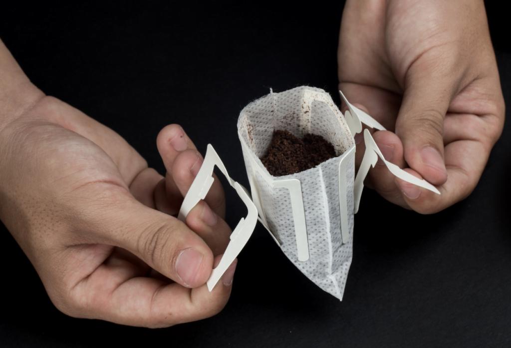 Cà phê túi lọc là gì - phin giấy - hướng dẫn sử dụng cafe túi lọc