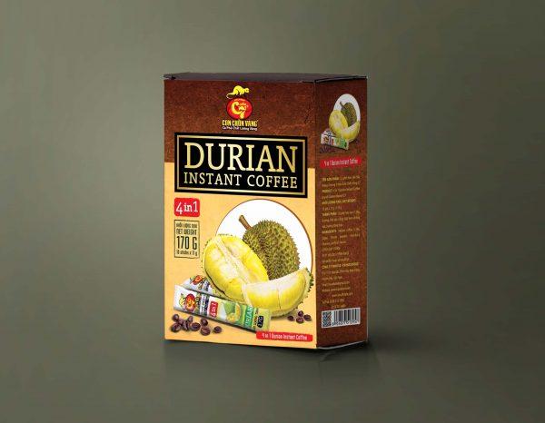 Cà phê hòa tan sầu riêng – Durian Instant Coffee