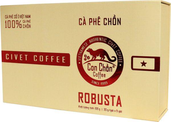 Cà Phê Con Chồn Robusta Cao Cấp – Hộp 100g 2. Cà phê chồn - Civet coffee 2