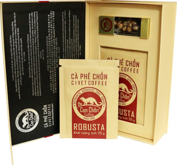 Cà Phê Con Chồn Robusta Cao Cấp – Hộp 100g 2. Cà phê chồn - Civet coffee 5