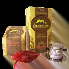 Cà Phê Con Chồn Vàng Arabica Hộp Vuông – Hộp 250gr 3. Cà phê rang xay