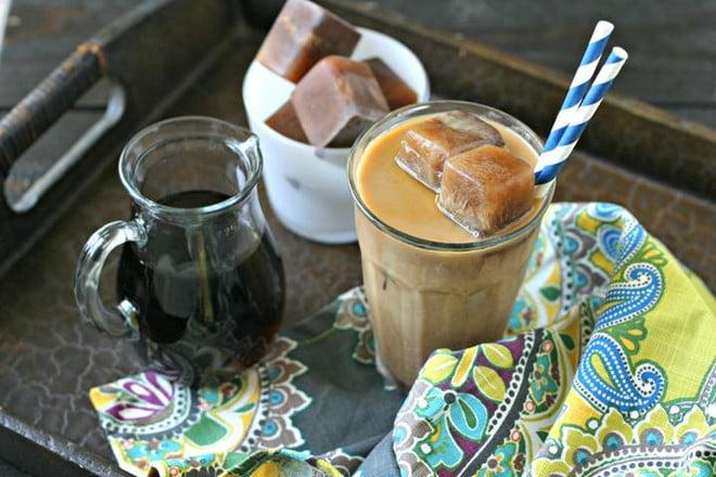 Những cách uống cà phê độc đáo tại nhà