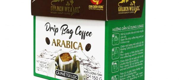 cà phê túi lọc drip bag coffee, cà phê túi lọc arabica