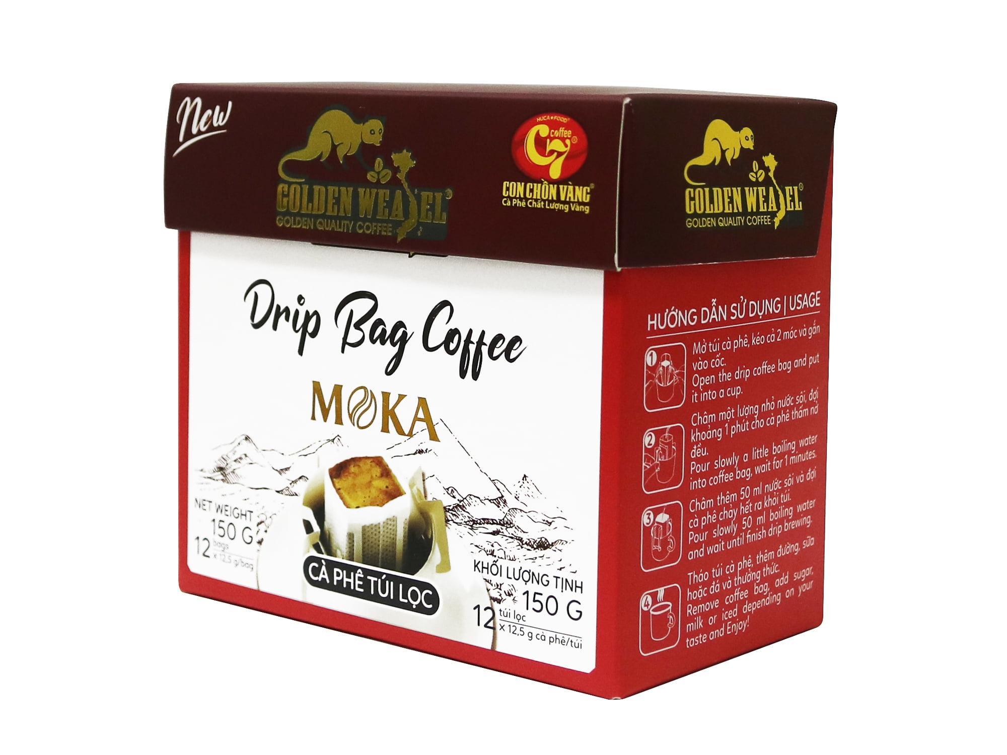 Cà phê túi lọc là gì, phân biệt cà phê túi lọc và cà phê túi nhúng, cà phê phin giấy