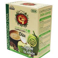 Cà Phê Cốt Dừa Hòa Tan 4in1 Cappuccino Con Chồn Vàng C7 1. Cà phê hòa tan - Instant coffee