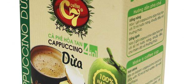 Cà phe cốt dừa 4in1 cappuccino