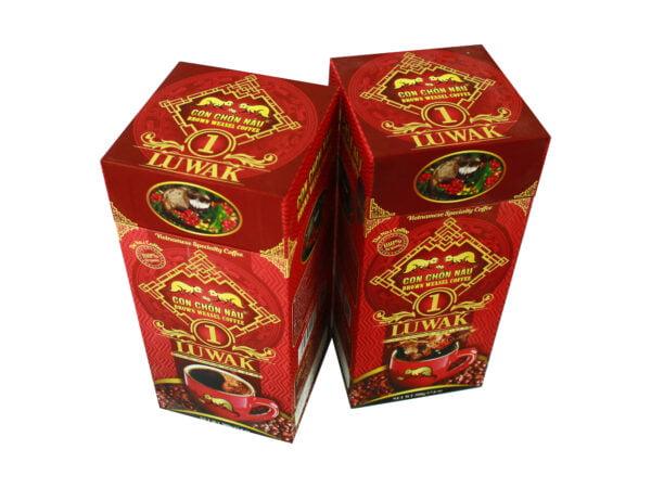 Cà phê Con Chồn Nâu Luwak - Hộp 500g Huca Food