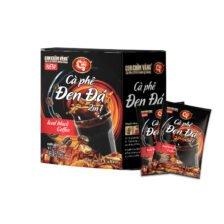 Cà Phê Hòa Tan 2in1 Đen Đá Con Chồn Vàng C7 - Huca Food