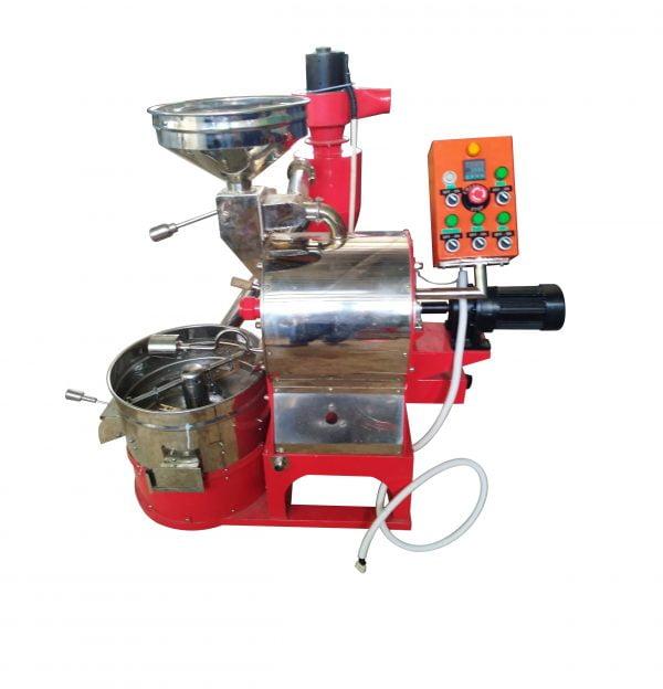 Máy rang cà phê 3kg/mẻ hot air - bền - đẹp - giá tốt