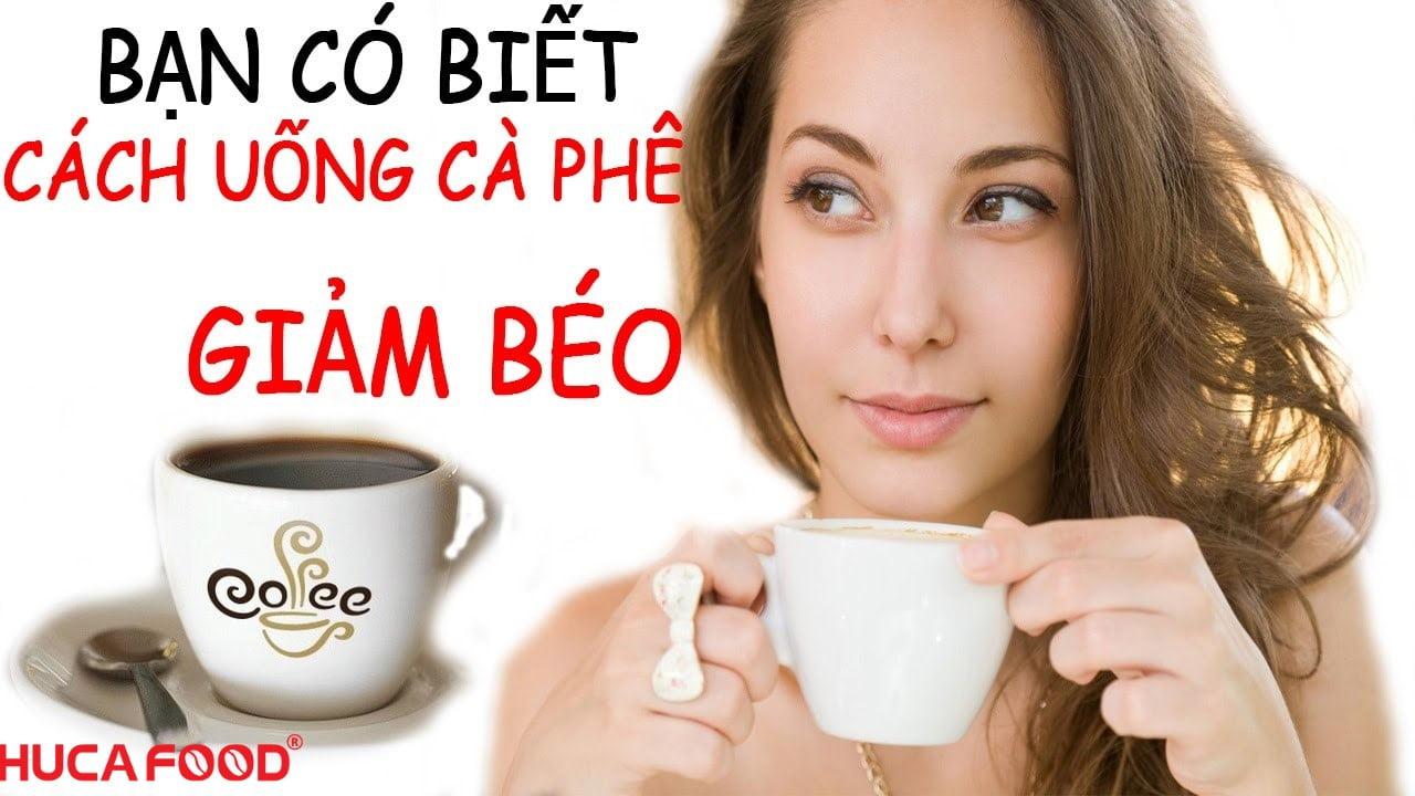 Uống cafe không đường có thật sự giảm cân?