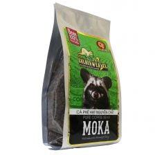 Cà Phê Hạt Moka Rang Mộc Con Chồn Vàng Huca Food Cà phê 2