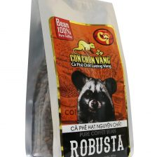 Cà Phê Hạt Robusta Rang Mộc Con Chồn Vàng – Túi 500Gr Cà phê 2