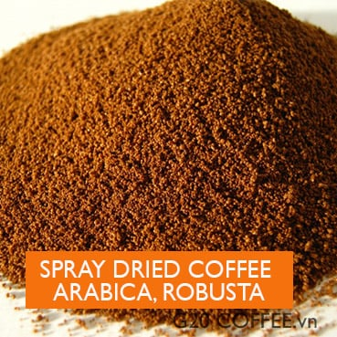 OEM Coffee Service - Start your own branded coffee business - Spray Dried Coffee Powder